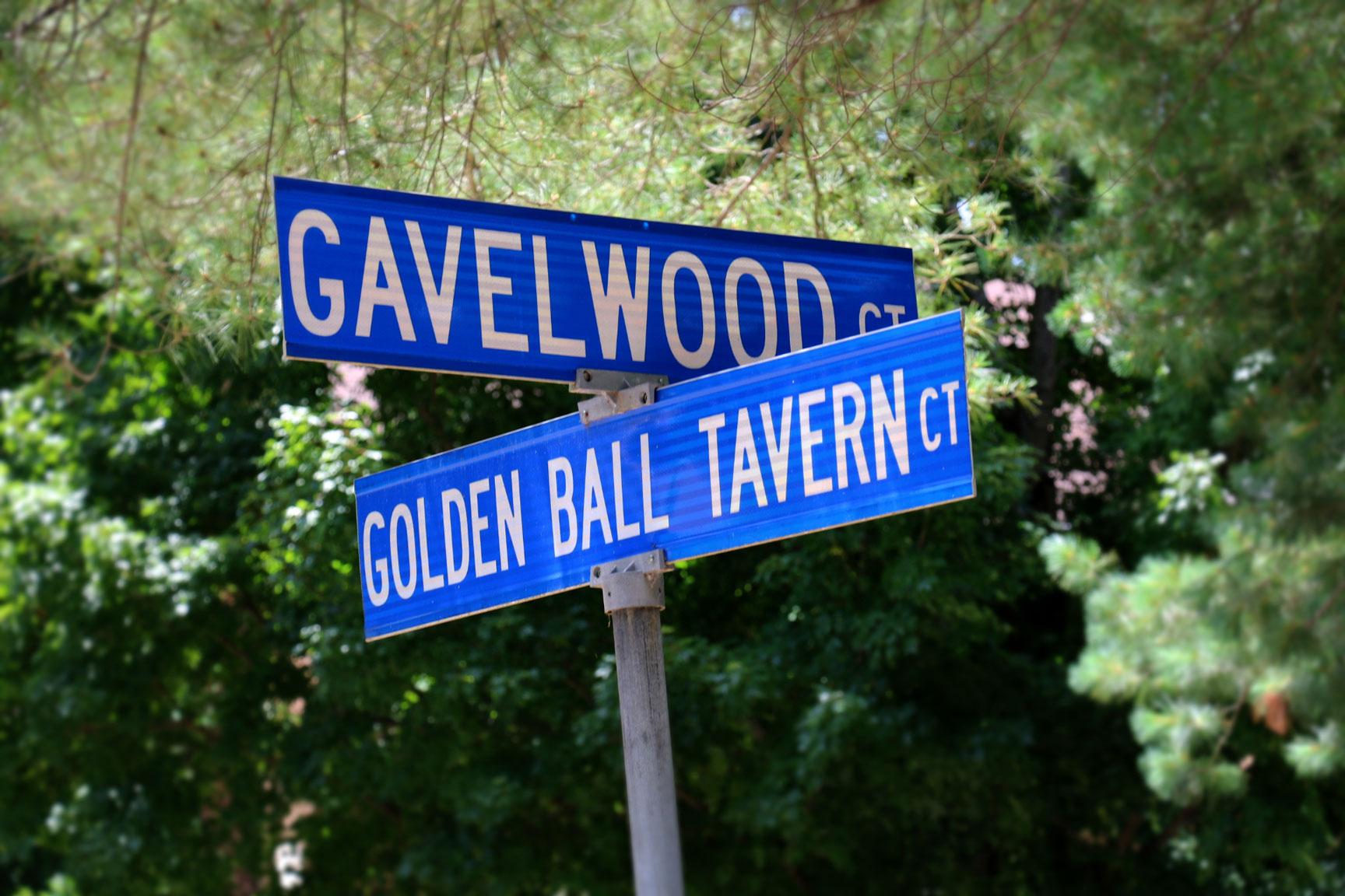 street sign at Lakewood Hills #2 at Kings Grant